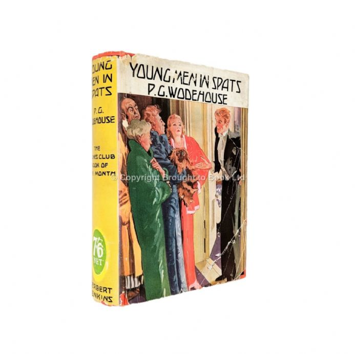Yound Men In Spats by P.G. Wodehouse​​​​​​​ First Edition Herbert Jenkins 1936